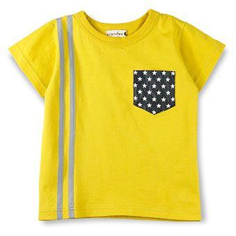 星ポケット半袖Tシャツ
