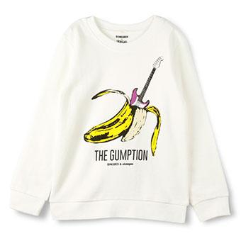 skeegee×SINGBOIバナナトレーナー
