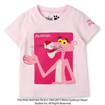 skeegee×PINKPANTHER BIGプリントTシャツ