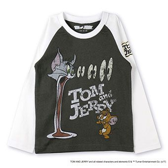 skeegee×TOM and JERRYダメージTシャツ