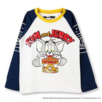 skeegee×TOM and JERRY トムバーガーT