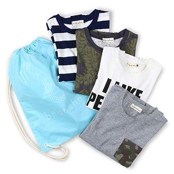 着回しTシャツ4点セット(男の子)
