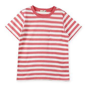 ベーシックボーダーポケット半袖Tシャツ