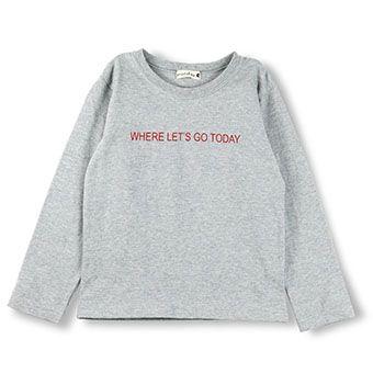 バックボックスロゴ長袖Tシャツ