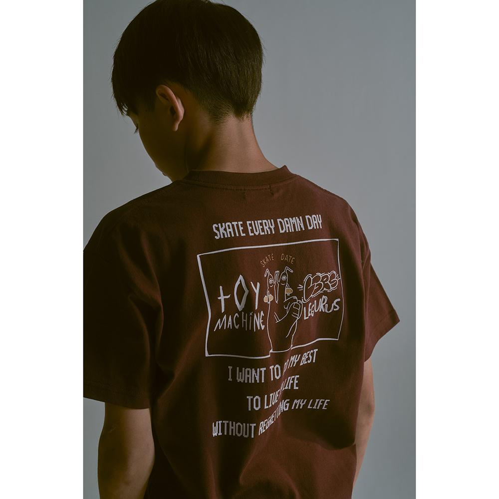 LEGURUS×TOY MACHINE コラボTシャツ