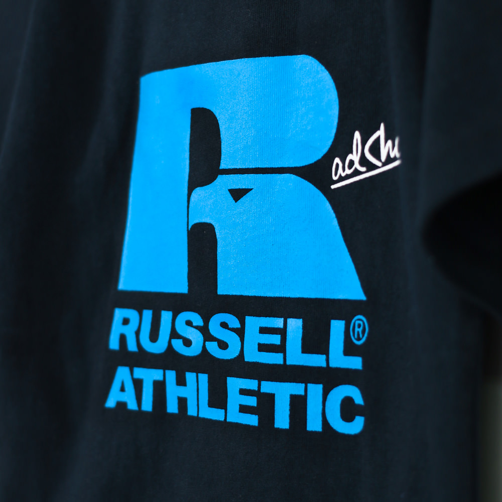 【RUSSELL ATHLETIC×RADCHAP】ロゴTシャツ
