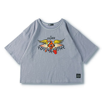 LEGURUS×TOY MACHINEコラボTシャツ