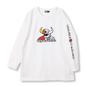 LEGURUS×TOY MACHINEコラボロンT