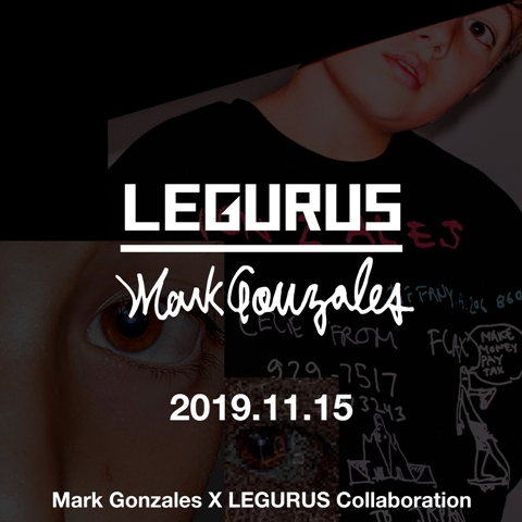 MARKGONZALES x LEGURUS COLLABORATION