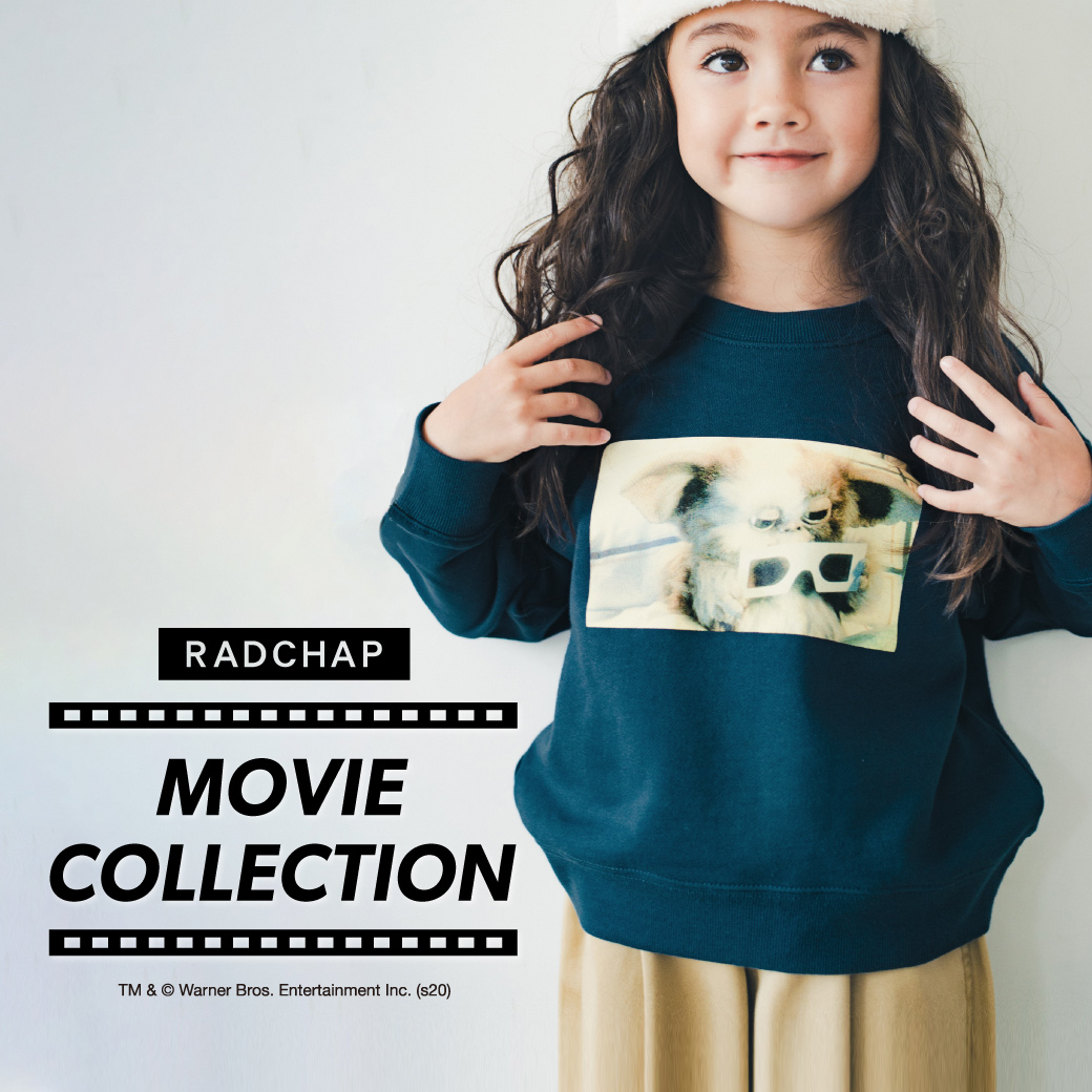 子供服branshes RADCHAP STAR WARS,JAWS,BACK TO THE FUTURE,映画コラボのバナー