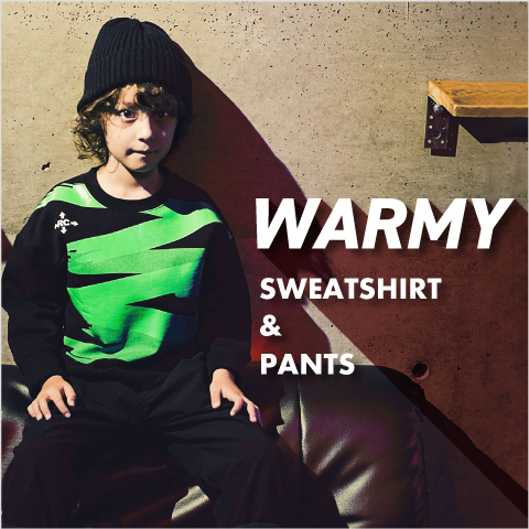 WARMY SWEATSHIRT & PANTS