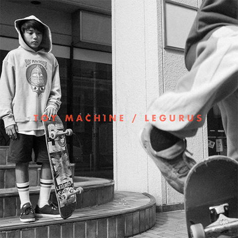 TOY MACHINE x LEGURUS COLLABORATION