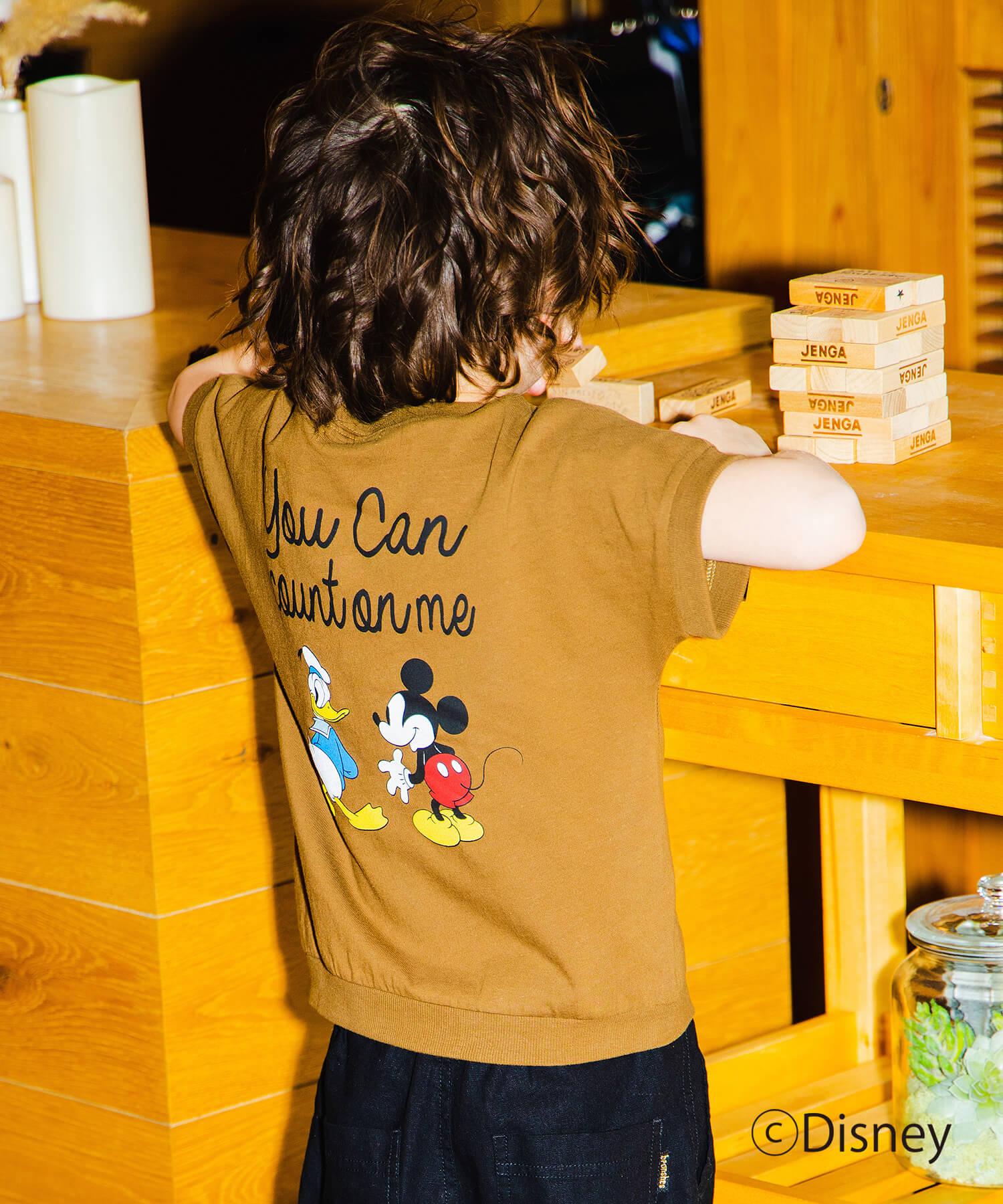 【Disney】BACKプリントTシャツ